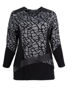Shirt Laurice schwarz-weiss L