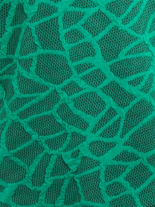 Kleid Ariola jadegrün-schwarz XL