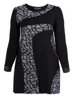 Kleid Ashlin schwarz-weiss XL