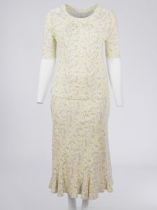 Shirt Mila Paisley grau-vanilla S