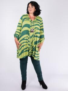 Cardigan Fiona tanne-kiwi XL