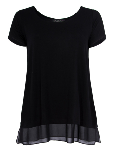 Shirt Kaya schwarz 3XL