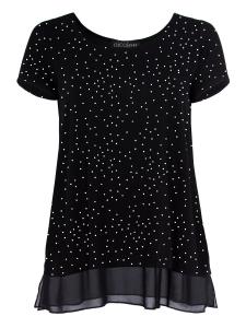 Shirt Kaya Punkte schwarz-weiss L