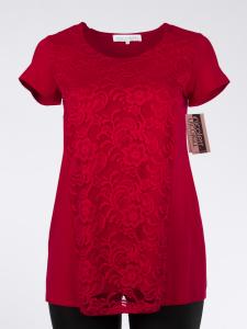 Longshirt Louise Jersey rot XL