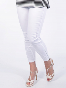 Hose Claire weiss L
