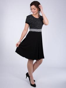 Kleid Hazel schwarz-weiss MIX XL