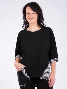 Shirt Leandra schwarz-weiss L