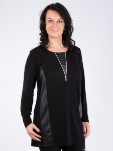 Shirt Betty Zipper schwarz M