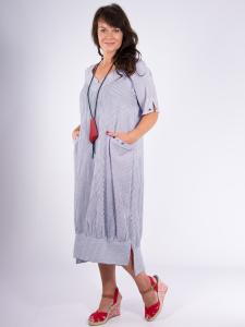 Kleid APIA Streifen