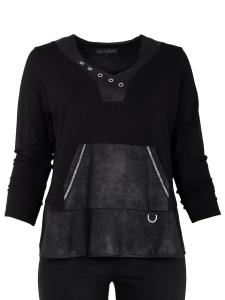Shirt Loria schwarz 2XL
