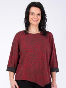 Shirt Kateira rot Jacquard S