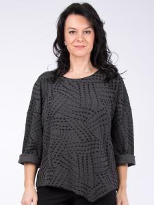 Shirt Kateira grau Jacquard 2XL