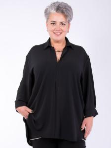 Bluse Karim ohne Tasche schwarz XL
