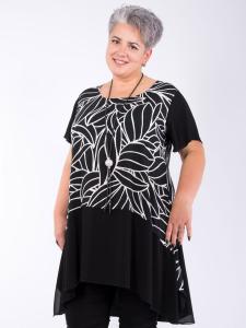 Kleid Annivian schwarz-weiss XL