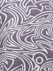 Rollschal Jacq.two tone grau-schwarz