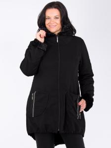 Mantel Belva schwarz S
