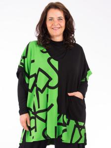 Pullunder Mihret grün-schwarz 2XL