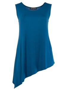 Tunika Juma Jersey opalblau 3XL