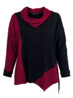 schwarz-rubinrot