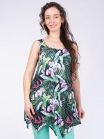 Print Bali grün-Multicolor