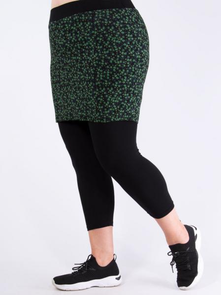 Millefleurs grün schwarz