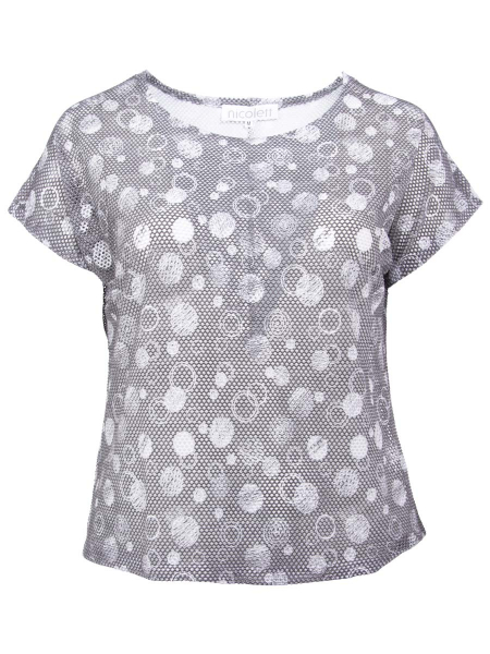 grey-white circles print