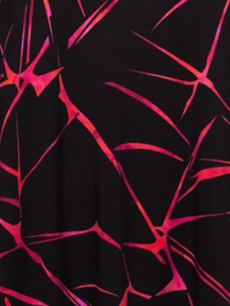 schwarz-fuchsia-rot